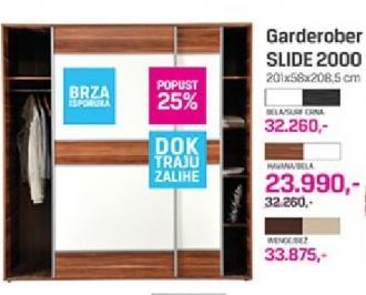 Garderober slide 2000