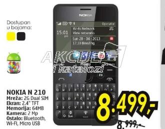 Mobilni telefon Asha N 210