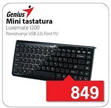 Mini tastatura Luxemate 1200