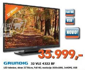 LED 32 VLE 4322 BF Televizor