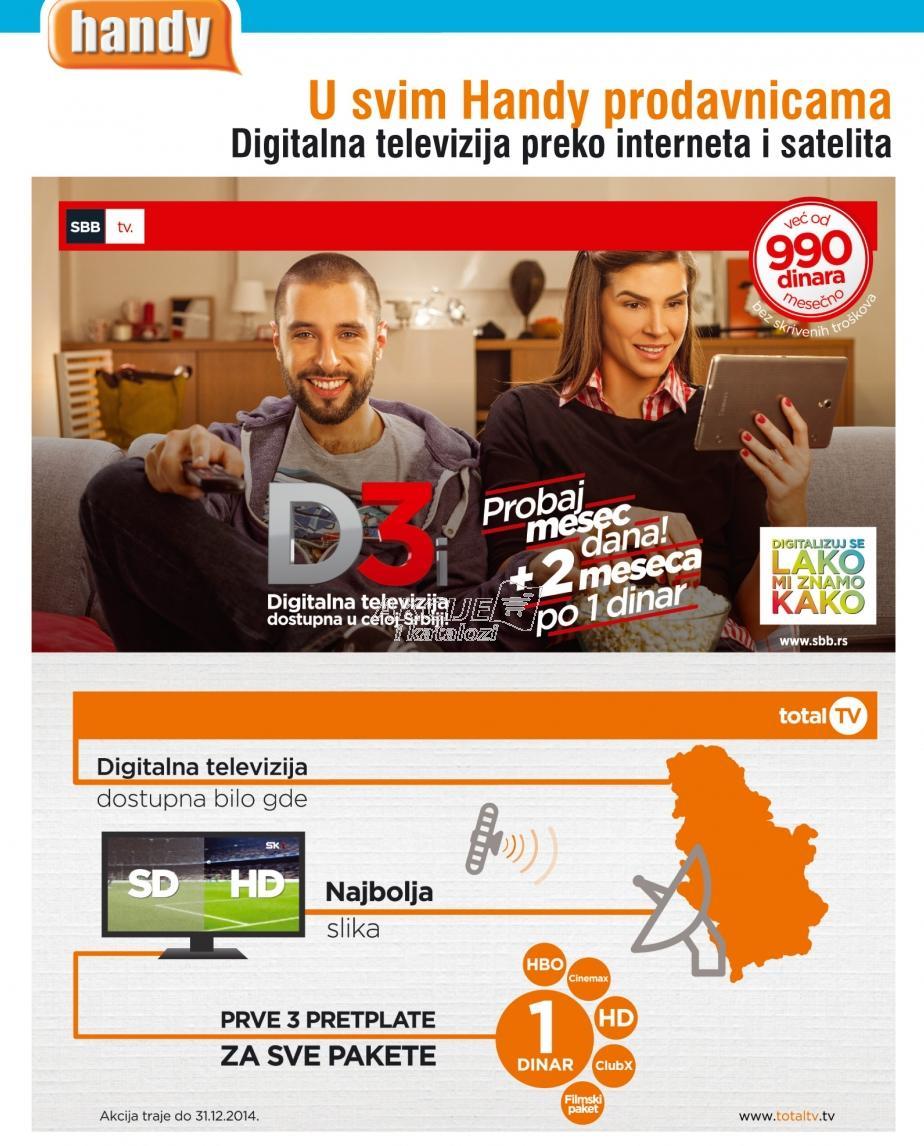 D3 digitalna televizija
