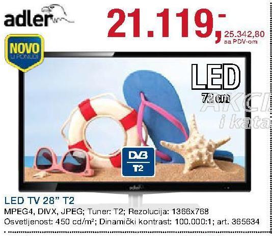 """Televizor LED 28"""" T2"""