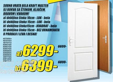 Sobna vrata Master štok 10cm