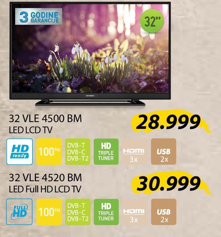"""Televizor LED 32"""" 32 VLE 4500 BM"""