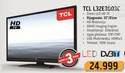 """Televizor LED 32"""" L32e3003c TCL"""