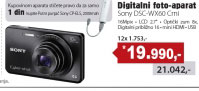 Digitalni fotoaprat  DSC-WX60