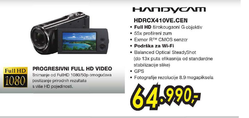 Kamera Hdr-Cx410