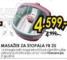 Masažer za stopala FB 25