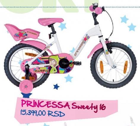 Dečije biciklo Princessa Sweety 16