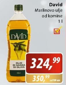 Ulje maslinovo David