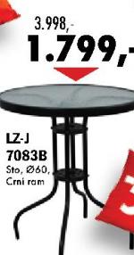 Baštenski sto LZ-J 7083B