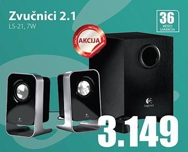 Zvučnici 2.1 LS-21