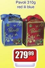 Čokoladne bombone Pavoli