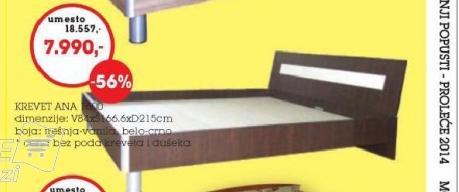 Krevet Ana 600