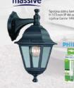 Spoljna zidna lanterna LIMA + Philips sijalica