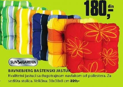 Baštenski jastuk