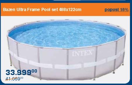 Bazen Ultra Frame Pool set
