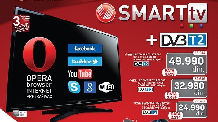 """Televizor TV 39"""" SMART LED 39ST2880"""