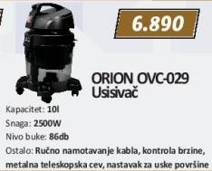 Usisivač Ovc-029 Orion