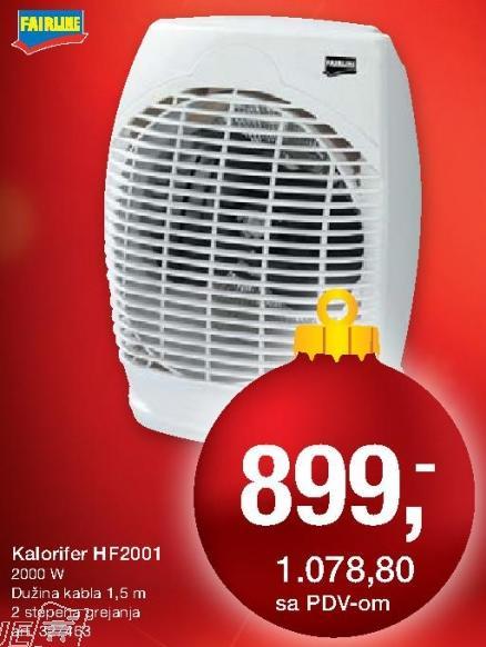 Kalorifer Kf2001