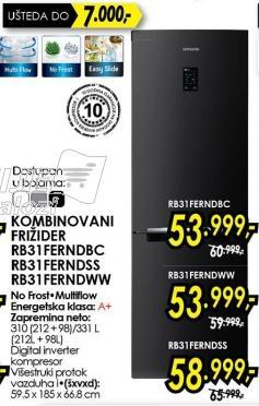 Kombinovani frižider Rb31ferndww