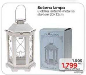 Solarna lampa