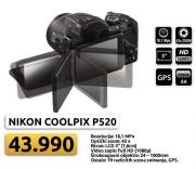 Fotoaparat Coolpix p520