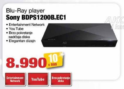 Blu-rey plejer Bdps1200b.Ec1