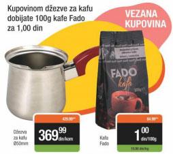 Domaća kafa Fado