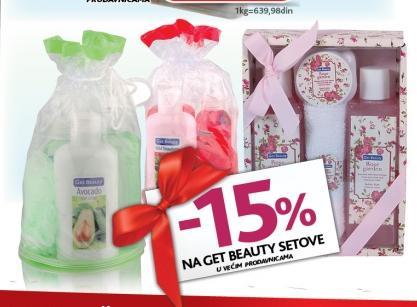 Get Beauty poklon setovi