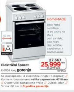 Električi Šporet