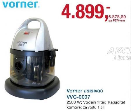 Usisivač WC 0007
