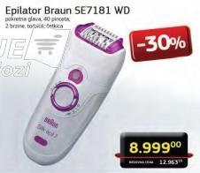 Epilator SE7181 WD