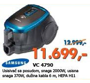 Usisivač VC 4790