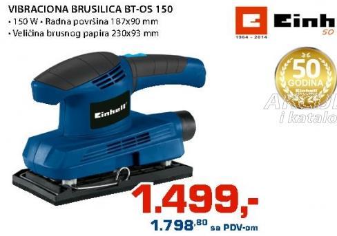 Vibraciona  brusilica Bt-os 150