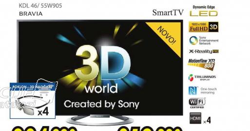 Televizor LED LCD KDL-55W905