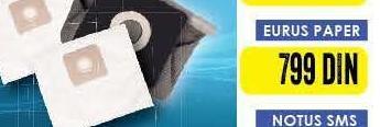 Kesa za usisivač Eurus Paper