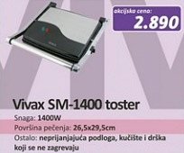Toster SM-1400