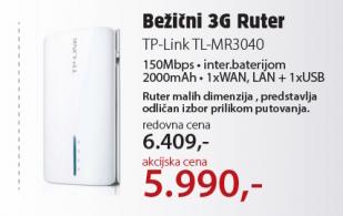Bežični 3G ruter TL-MR3040