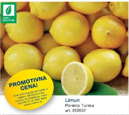 Promotivna cena limuna