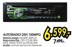 Auto radio Deh 150mpg