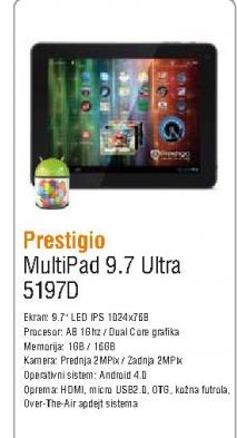 Tablet MultiPad 5197D Ultra 9,7inča