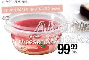 Sladoled cheesecake