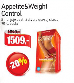 Appetite&Weight Control kapsule