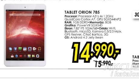 Tablet ORION 785