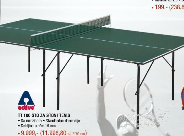 Sto za stoni tenis TT 100