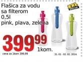 Flašica za vodu sa filterom