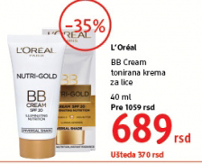 Tonirana krema za lice BB Cream