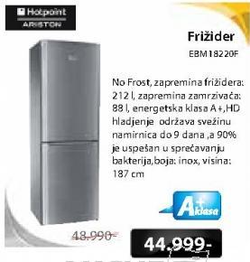 Frižider EBM18220F