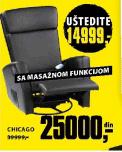 Stolica Masažer Chicago
